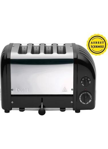 Dualit 47035 Classic 4 Hazneli Ekmek Kızartma Makinesi - Siyah Renkli
